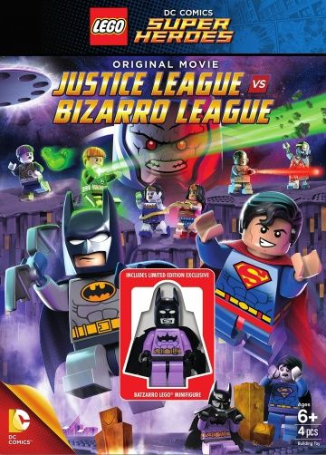 LEGO супергерои DC: Лига справедливости против Лиги Бизарро / Lego DC Comics Super Heroes: Justice League vs. Bizarro League (2015)