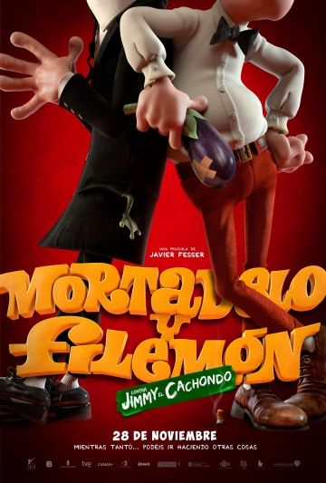 Мортадело и Филимон против Джимми Торчка / Mortadelo y Filemón contra Jimmy el Cachondo (2014)