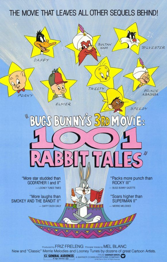 1001 сказка Багза Банни / Bugs Bunny's 3rd Movie: 1001 Rabbit Tales (1982)
